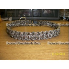 Cobra Stitch Dog Collar